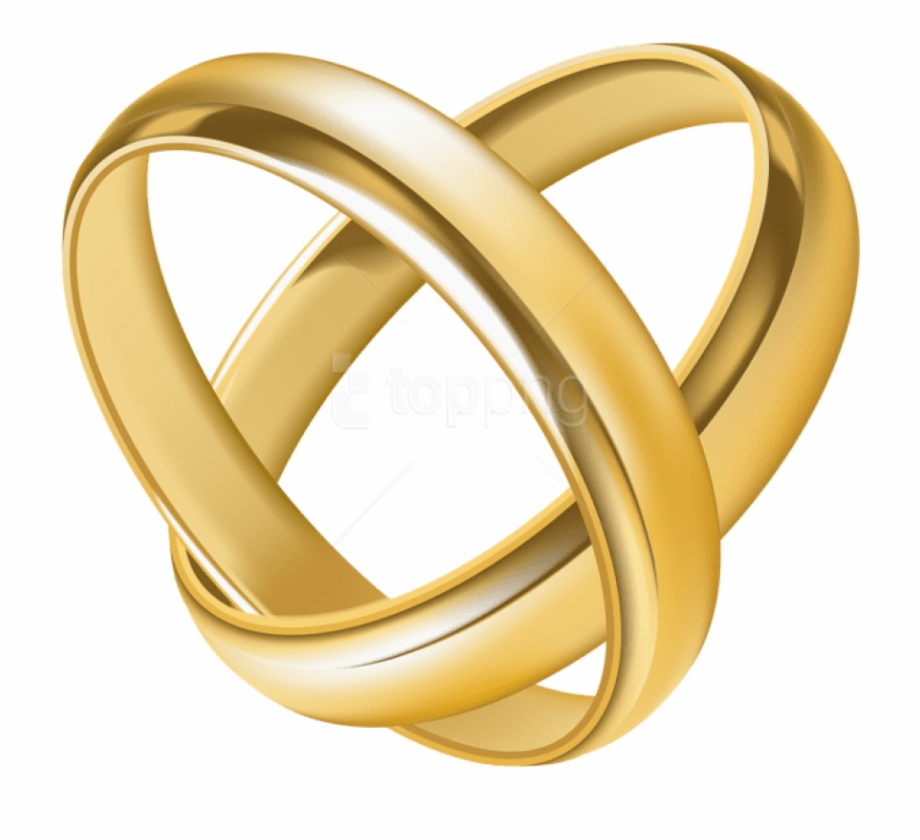 svg library Gold rings clipart. Download heart transparent wedding