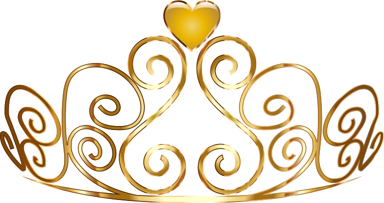 clip art black and white download Clipart tiara.  collection of gold