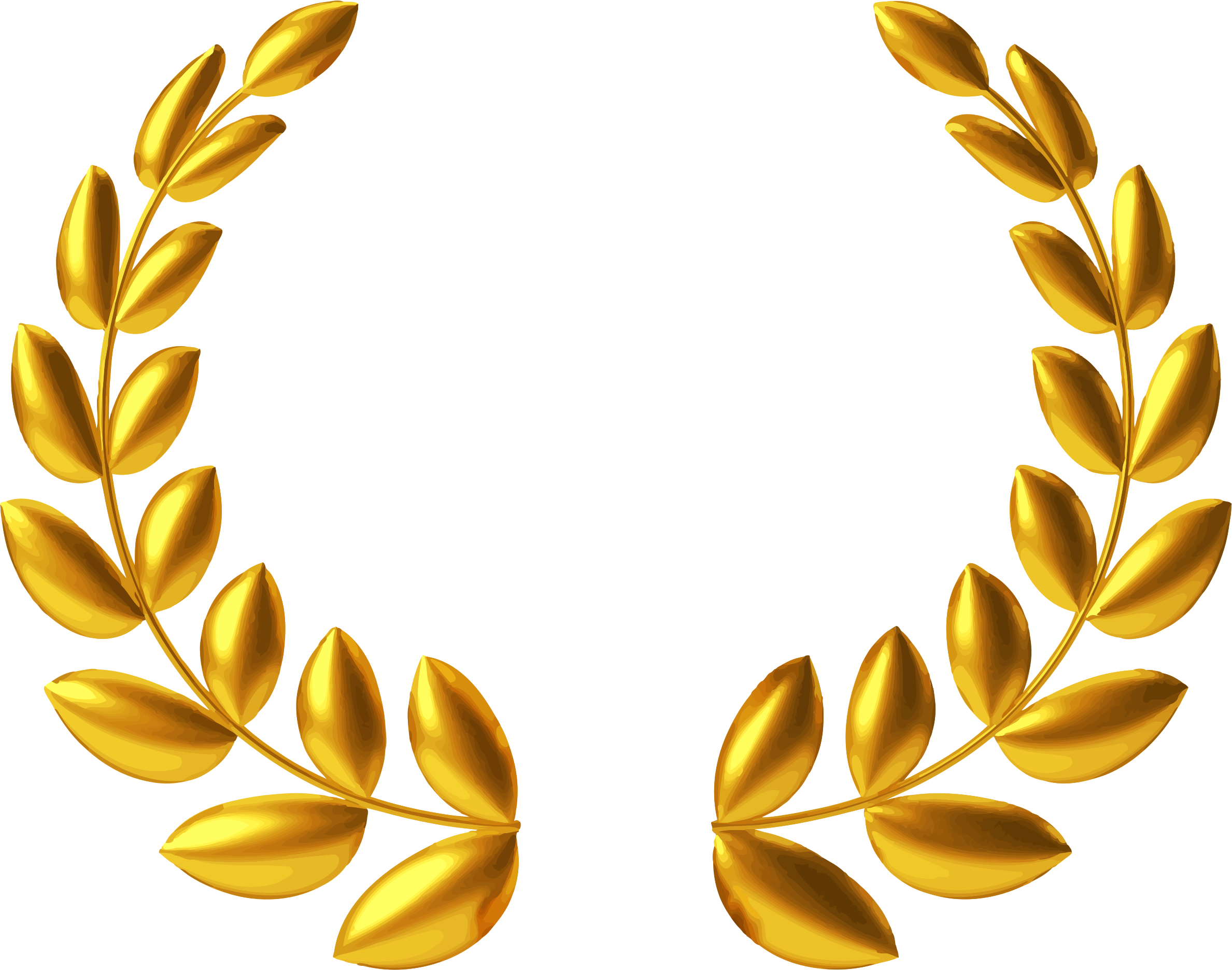 black and white stock Big image png. Gold wreath clipart