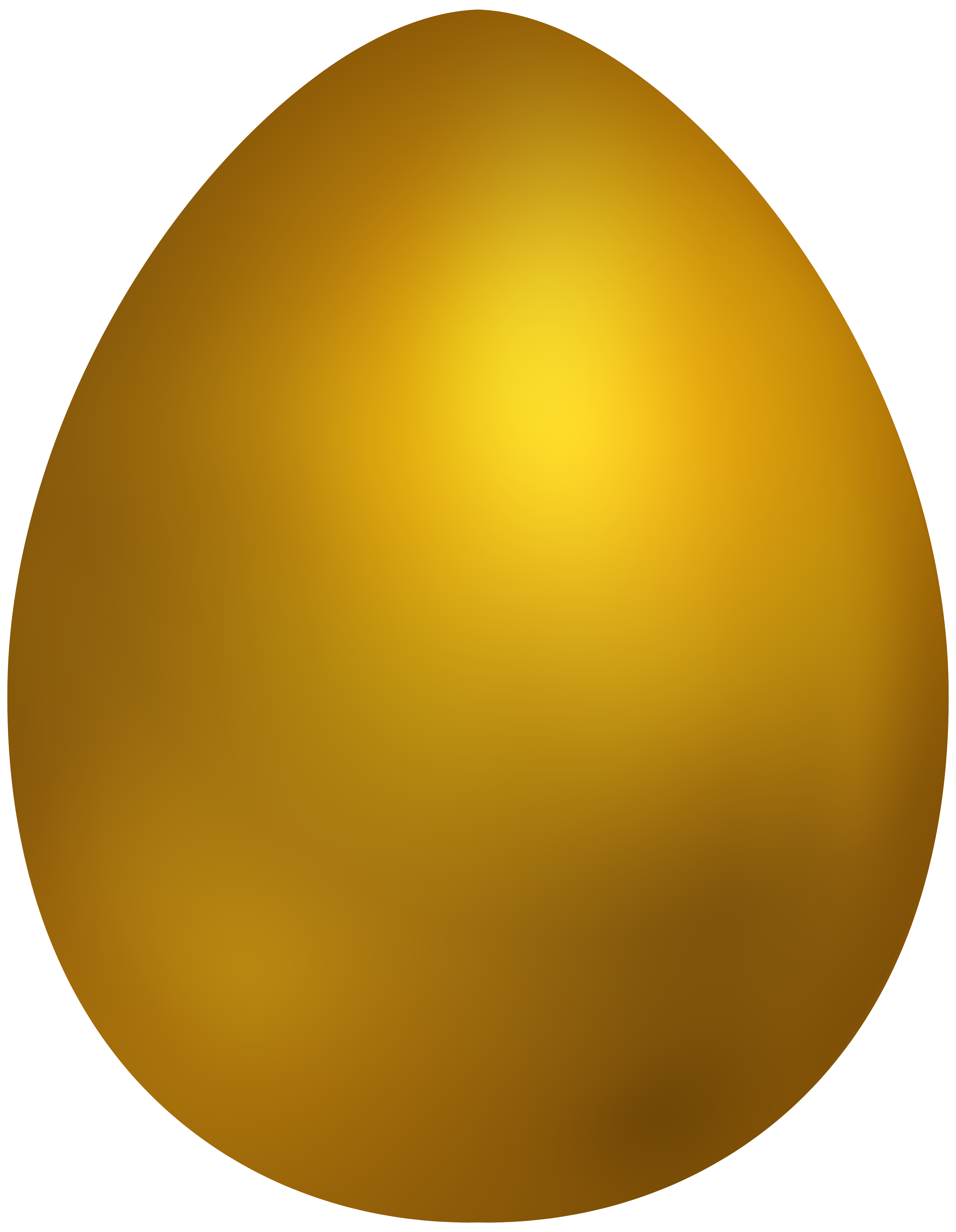 vector royalty free library Golden clipart. Gold easter egg png