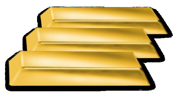 banner library Golden clipart gold brick. Bricks money png html