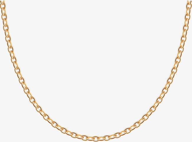 clipart library library Golden clipart gold necklace. Transparent png free download