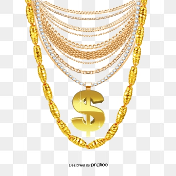 clip black and white stock Png vector psd and. Golden clipart gold necklace