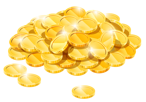 graphic freeuse Coins png st patrick. Golden clipart gold pile