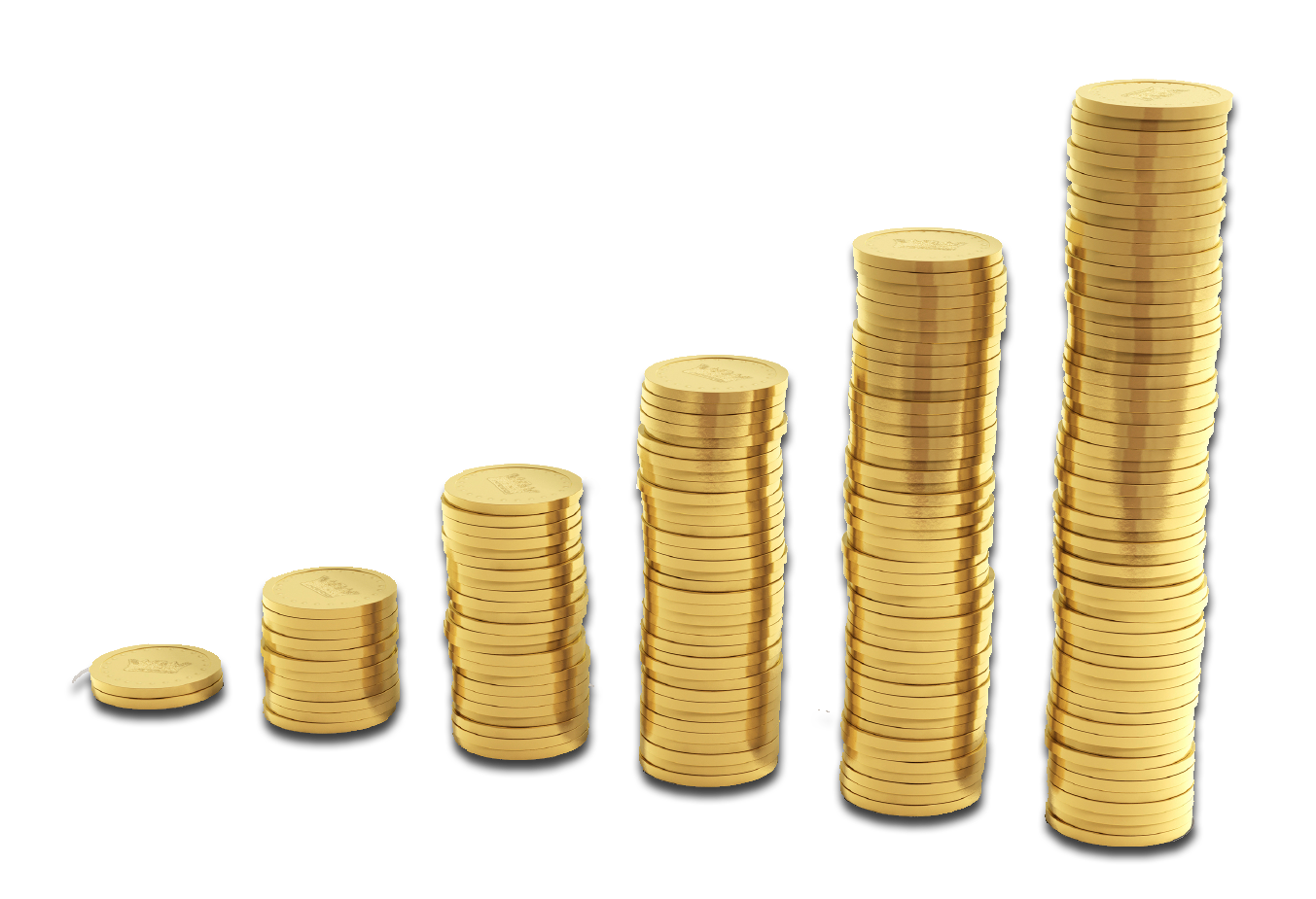 clip art freeuse Golden clipart stacked coin. Coins png pic mart