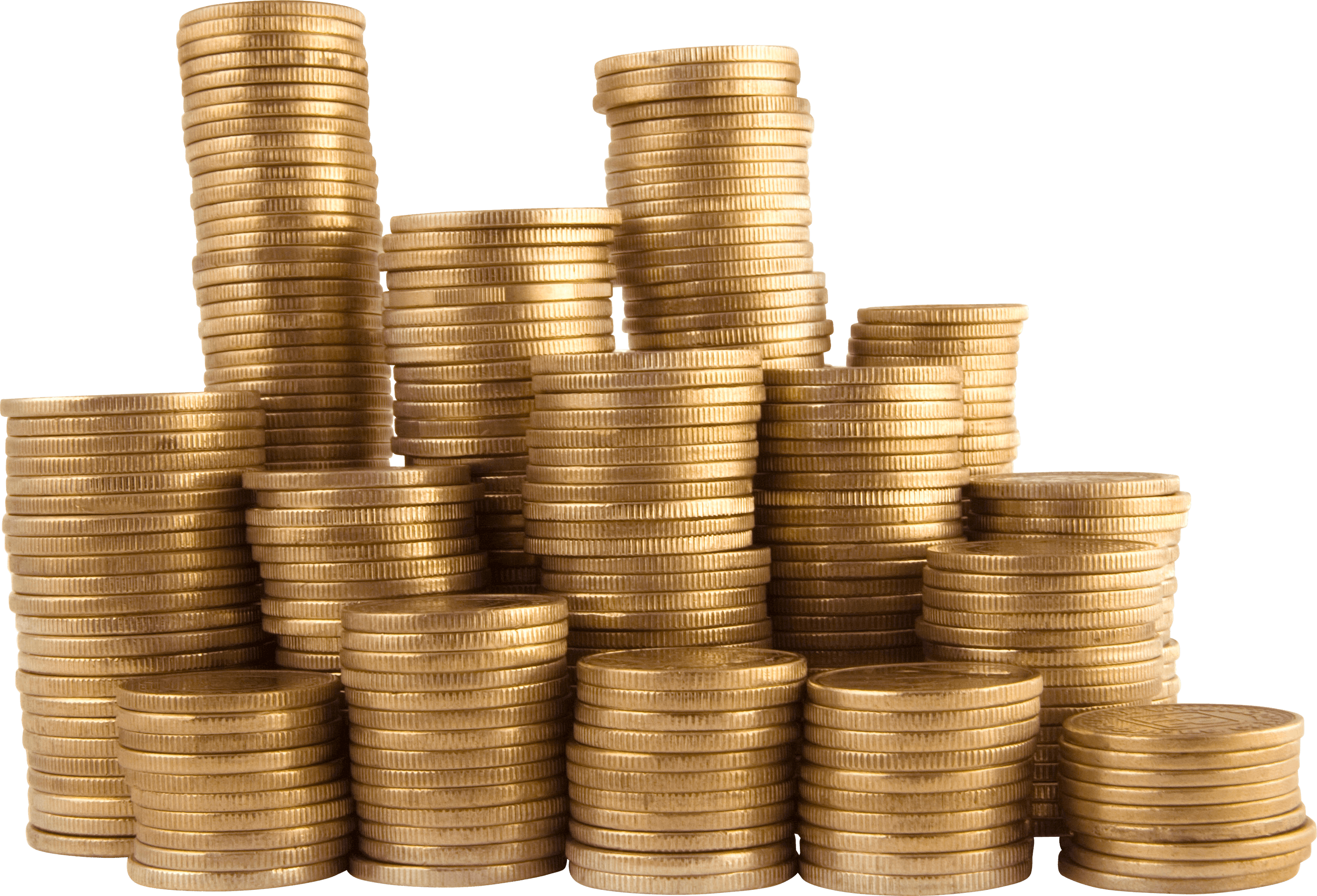 graphic transparent stock Coins transparent png stickpng. Golden clipart stacked coin