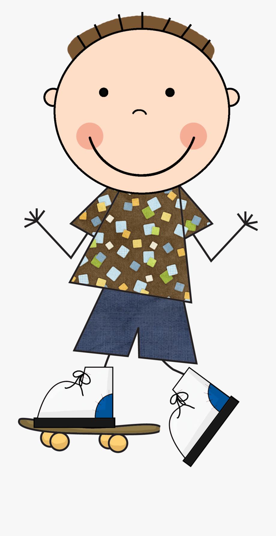 graphic transparent stock Golden clipart stick figure. Scrappin doodle boy