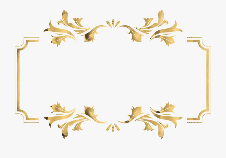 vector free download Golden clipart transparent. Antler border png