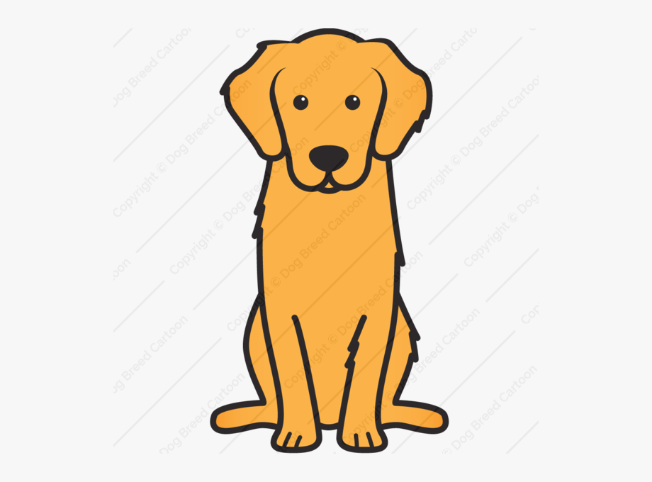 graphic library Golden retriever clipart. Royalty free download .
