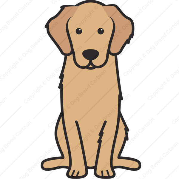 clip art transparent download Background puppy drawing . Golden retriever clipart clip art