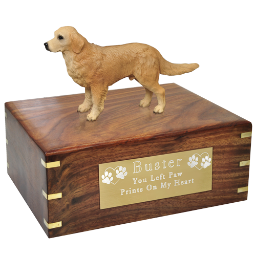 clip art black and white stock Golden retriever clipart gold dog. Wholesale cremation urn new