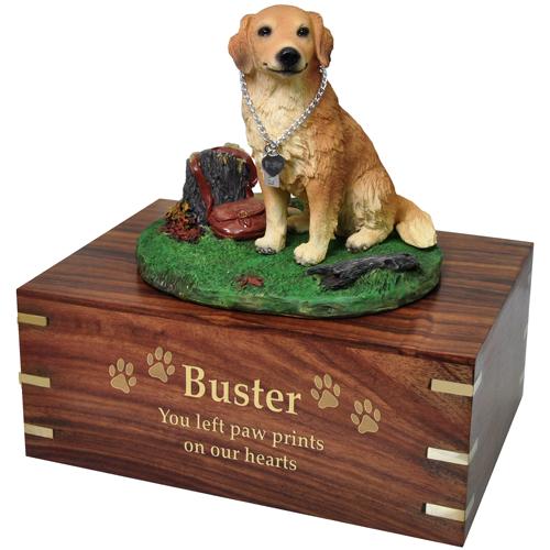svg stock Sitting cremation urn new. Golden retriever clipart gold dog