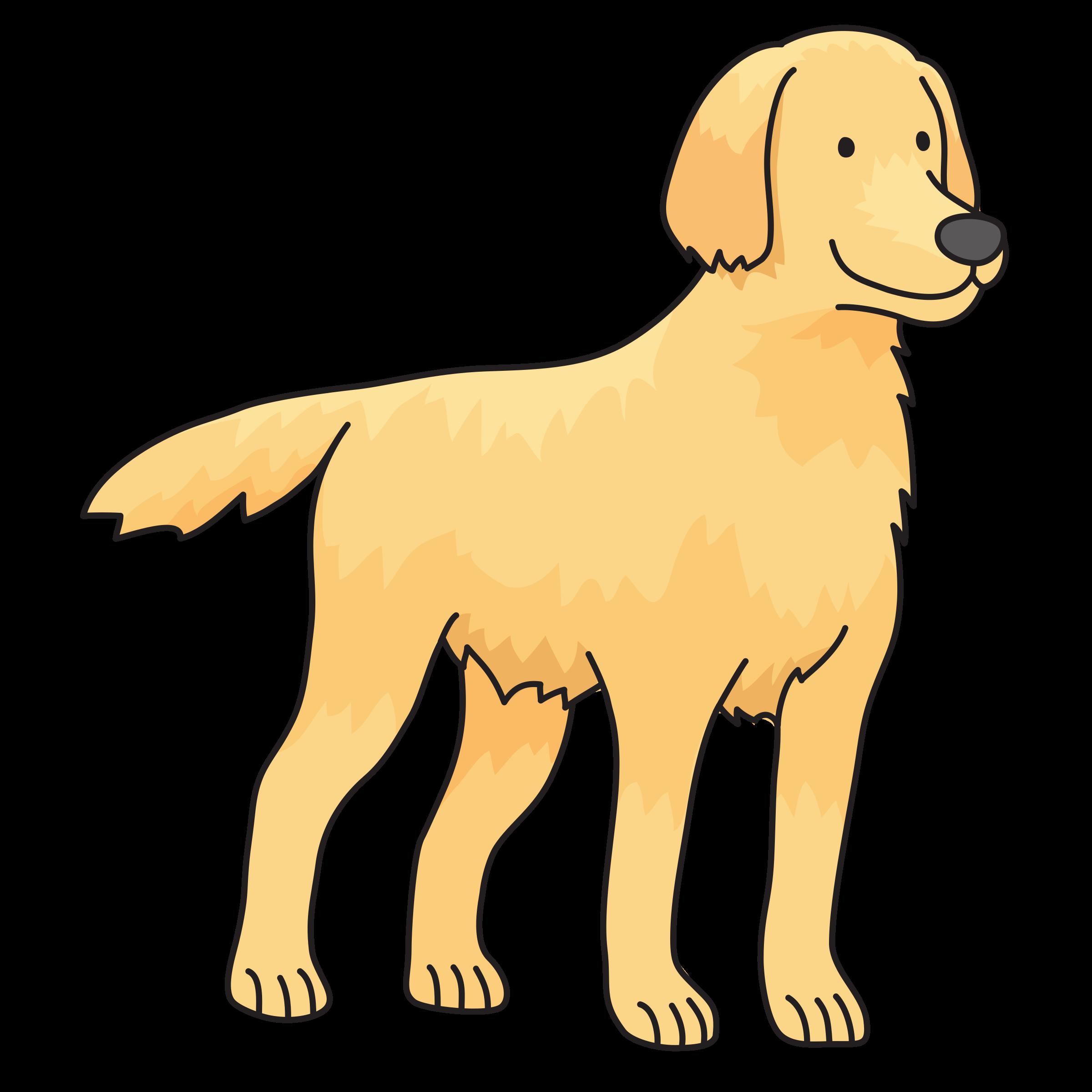 png transparent stock Dog big image png. Golden retriever clipart