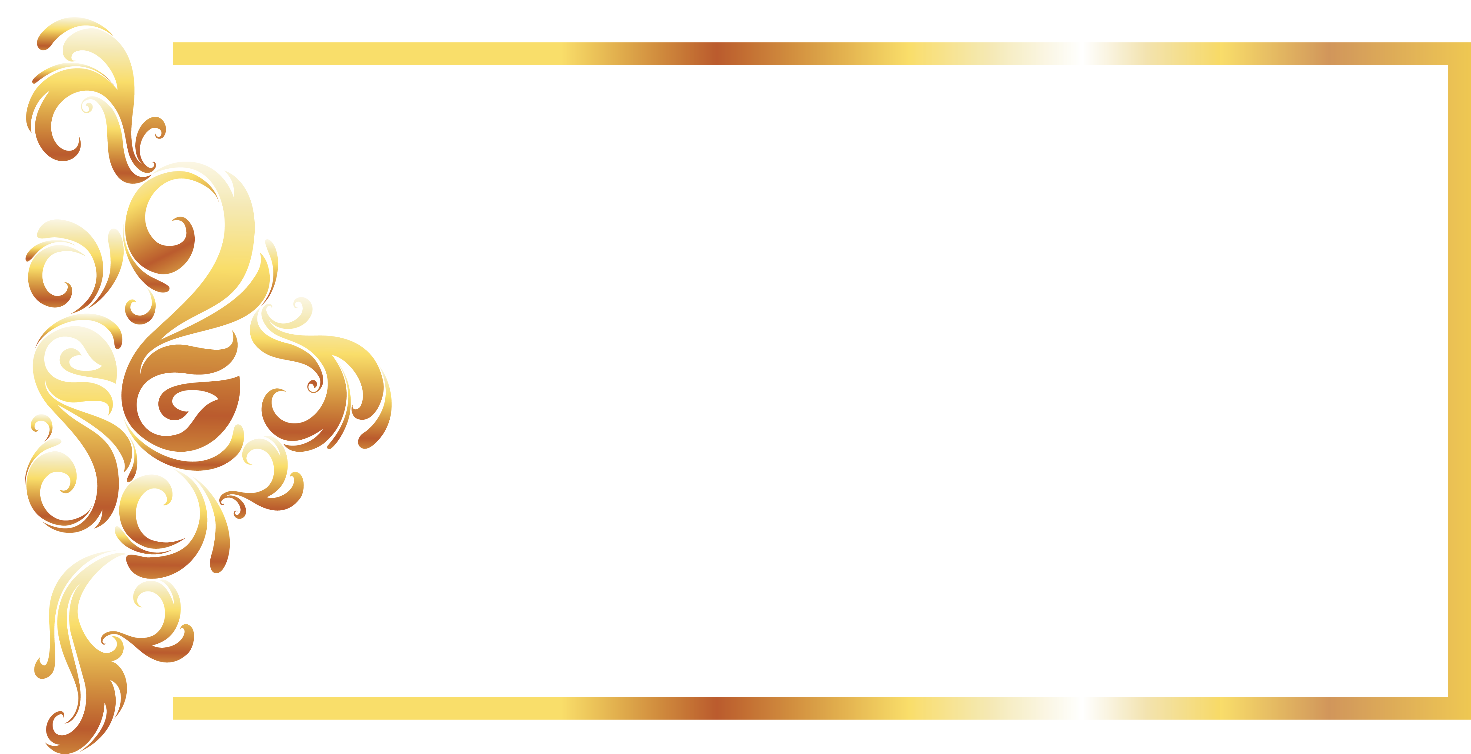 banner free library Yellow recreation pattern gold. Vector color border