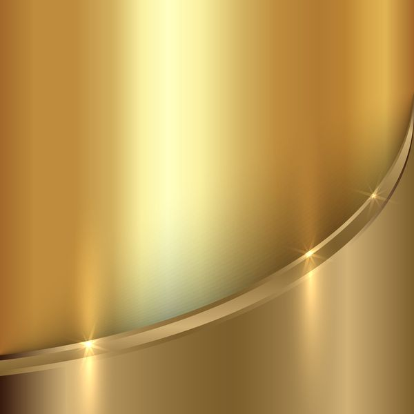 image royalty free Golden metal shining background. Vector color gold