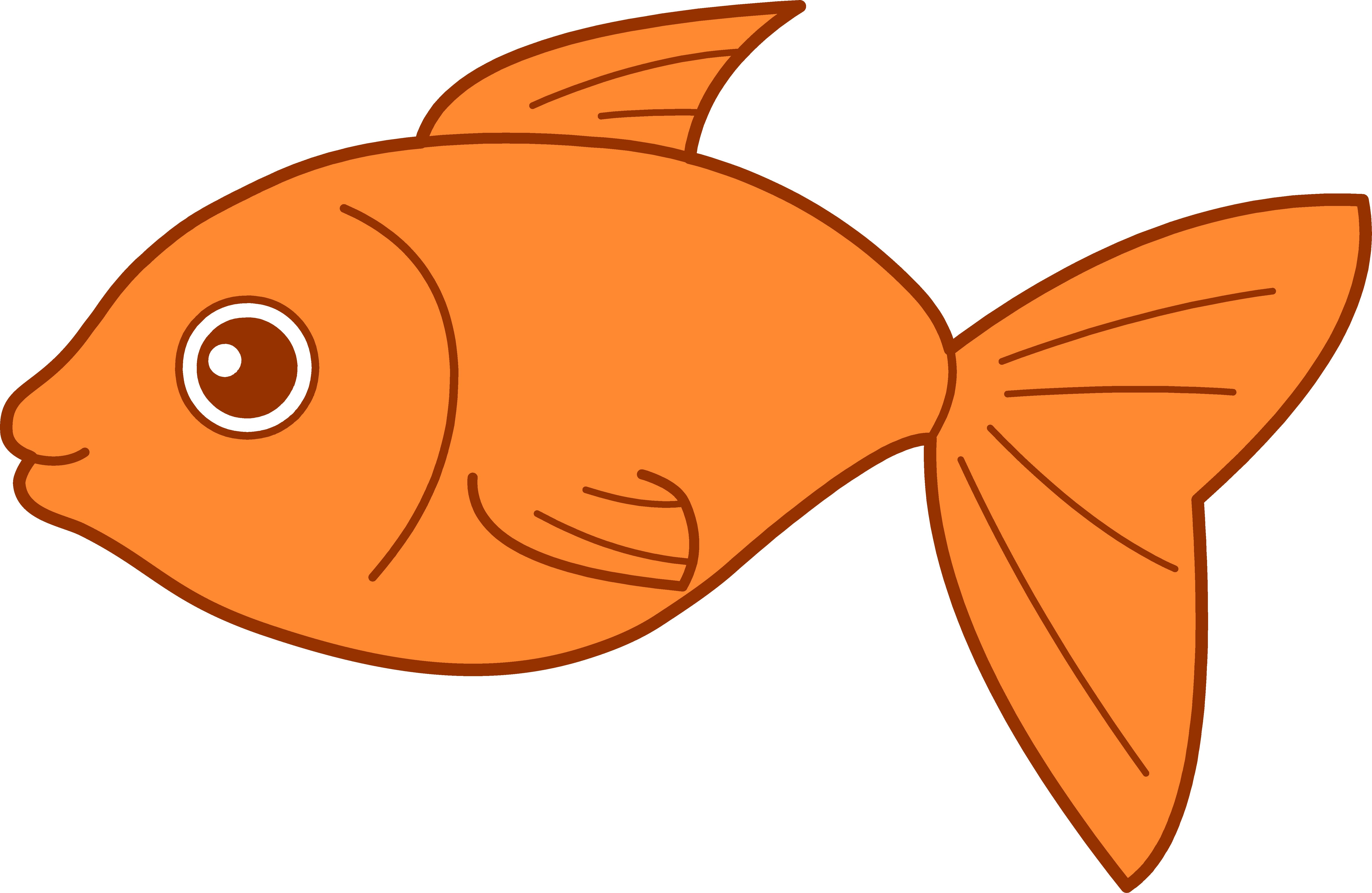 free Images free clip art. Goldfish clipart 4 fish