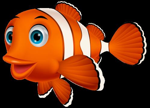 download Goldfish clipart 4 fish. Clown png bal k
