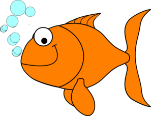 image royalty free download Goldfish clipart clip art. At clker com vector