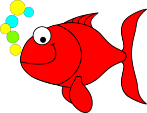 clip art free Red smiling clip art. Goldfish clipart colored