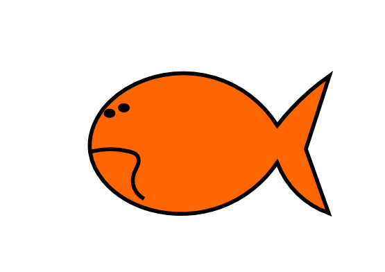 png freeuse download Clipartist net clip art. Goldfish clipart things