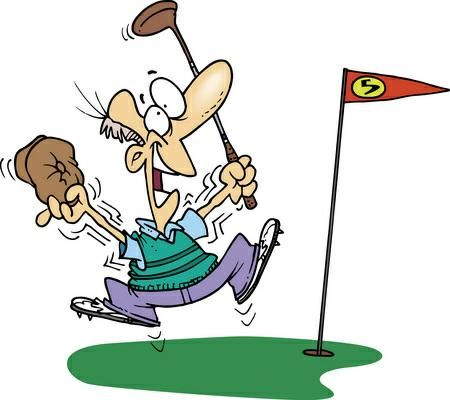 graphic Golf clipart. Free various clip art