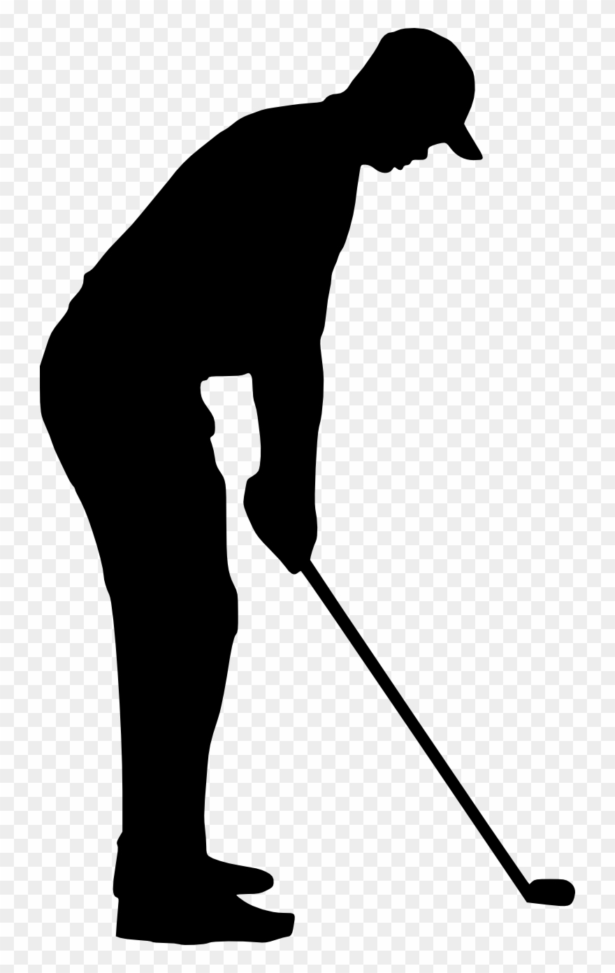 png royalty free stock Golfing retro sport transparent. Golf clipart