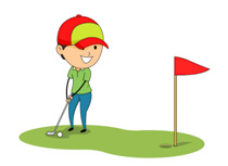 vector freeuse Transparent free for download. Golf clipart