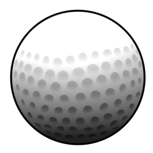 png black and white library Px svg free images. Golf clipart golf ball