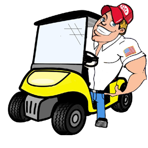 picture All other replacement parts. Golf clipart golf cart