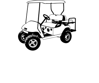 picture black and white download Golf clipart golf cart. Ascension carts about products