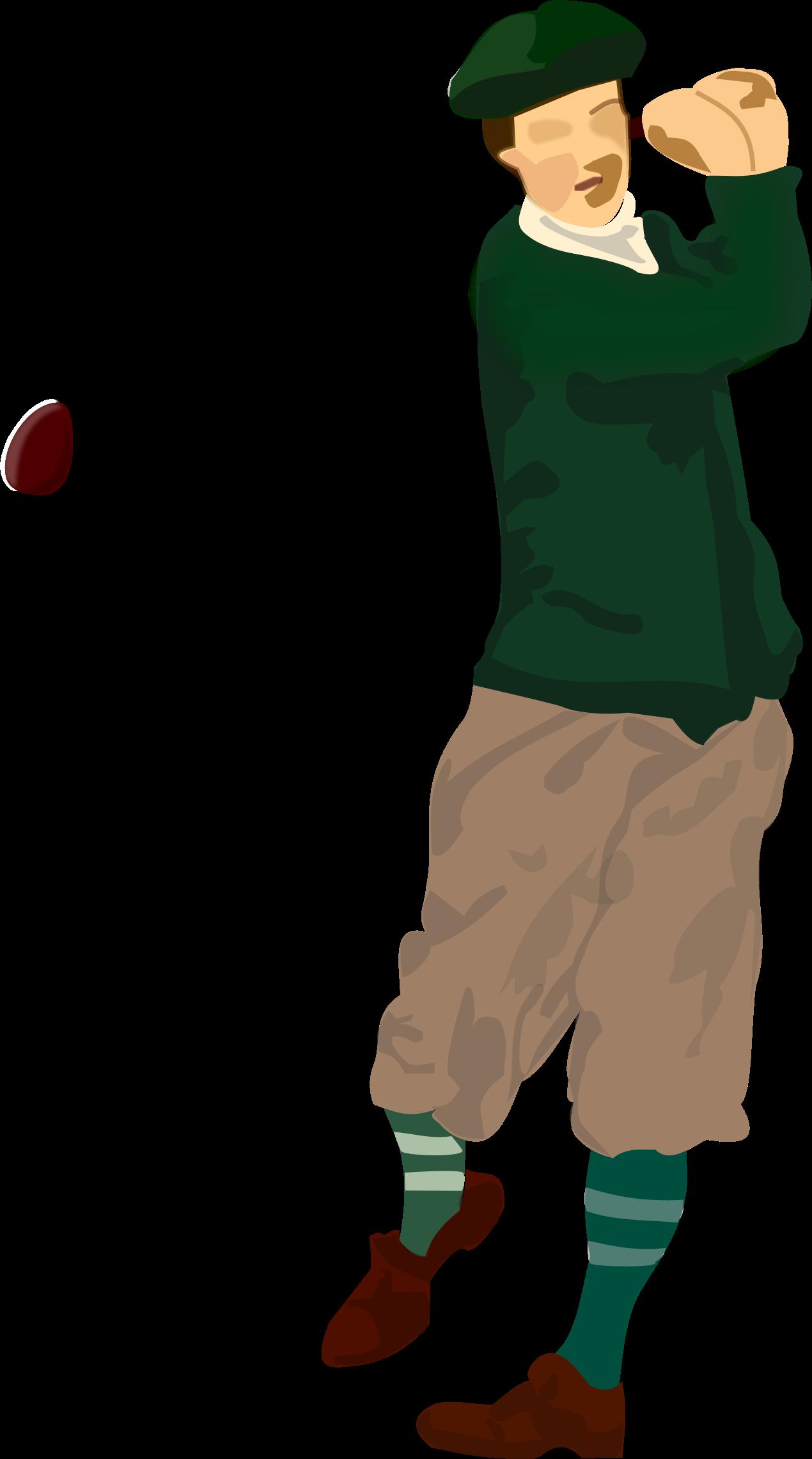 banner royalty free download Golfer big image png. Golf clipart golf player