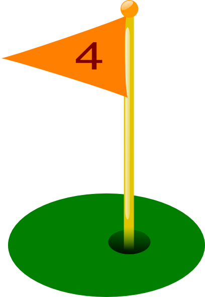jpg freeuse library Golf flag drawing at. Hole clipart.