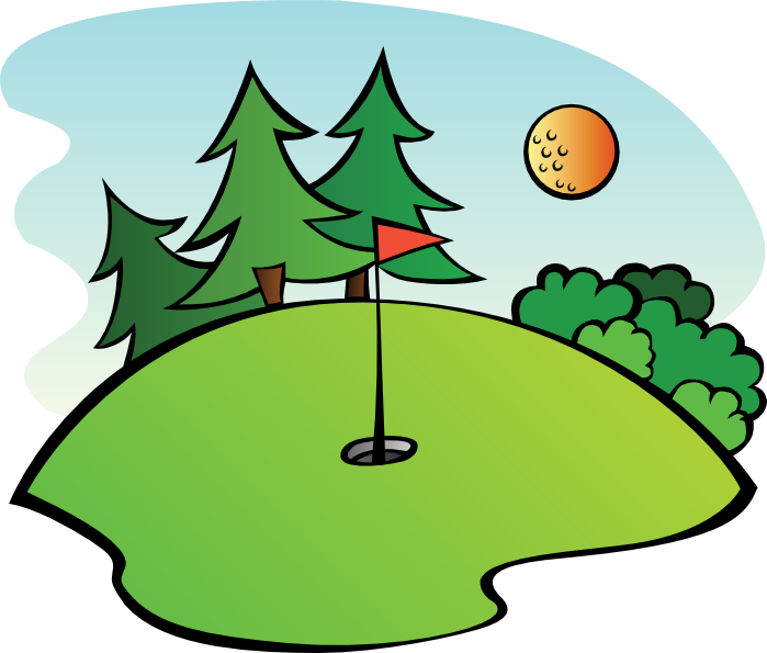 graphic stock Golf clipart. Free and animations course