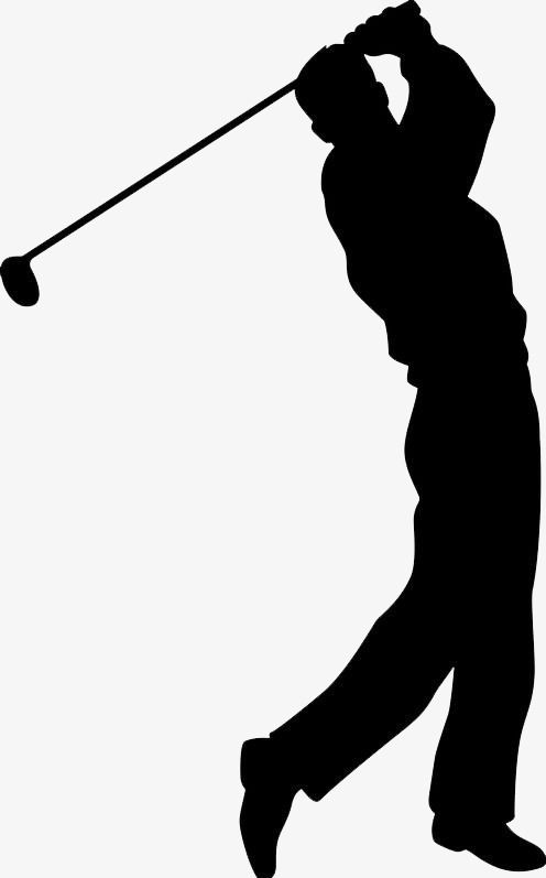 png transparent library Golf play png transparent. Golfer clipart