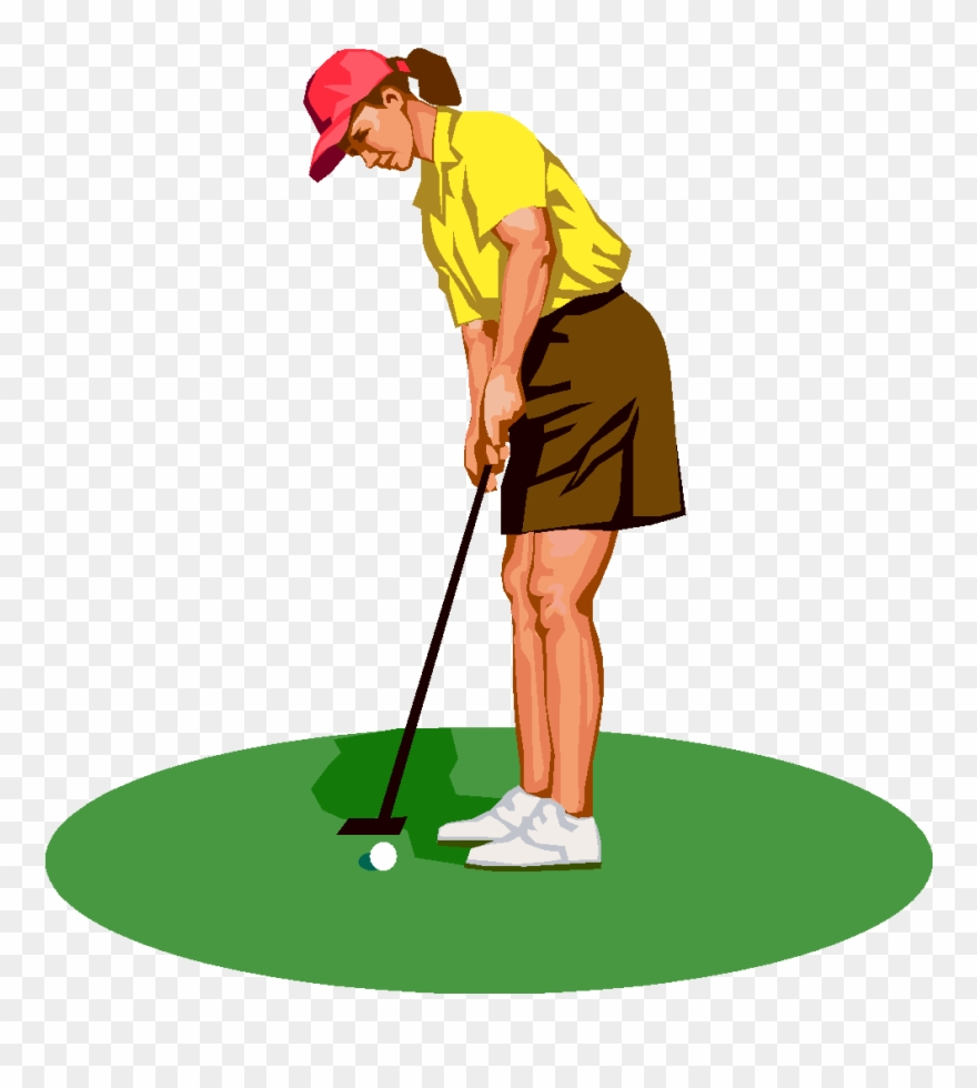 graphic royalty free stock Golf tee silhouette at. Golfer clipart