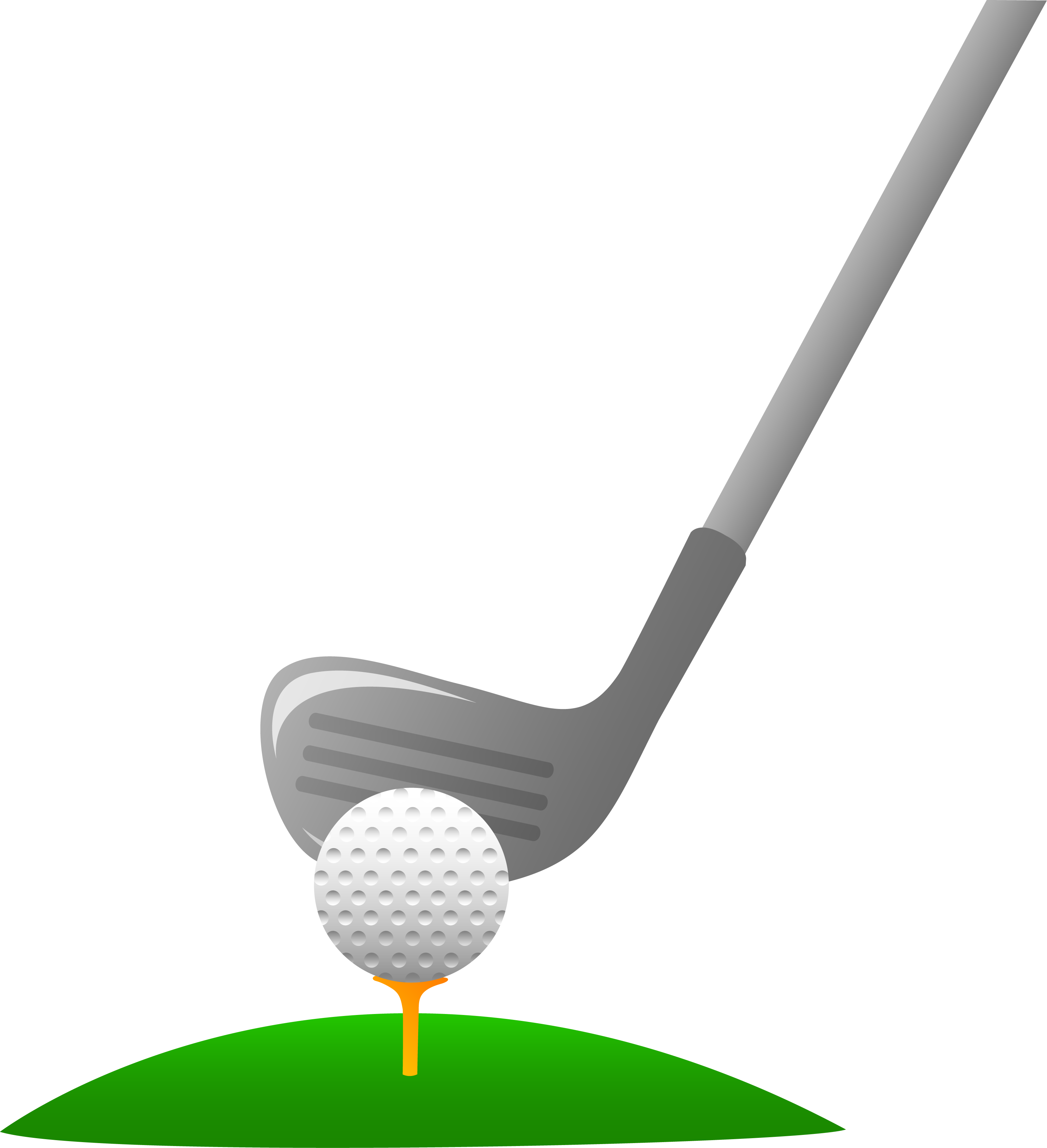 png library stock Golf Club And Ball Clipart