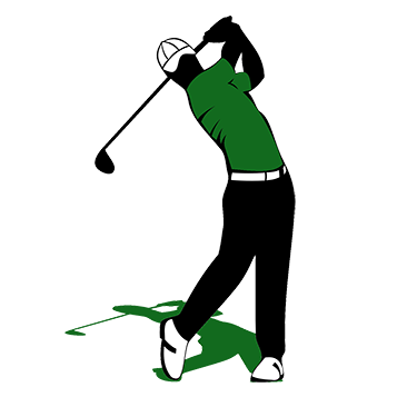 graphic black and white download Tracking system course management. Golfer clipart golf group