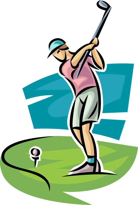 banner royalty free library Golfer clipart golf group. Transparent
