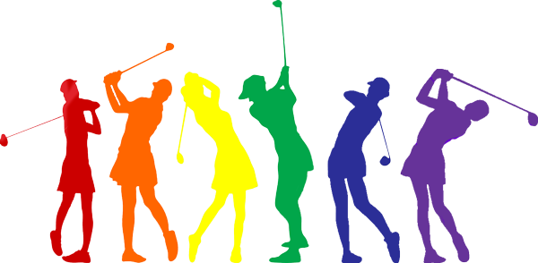 clip art black and white Golfer clipart golf group. Instruction atlanta the swing