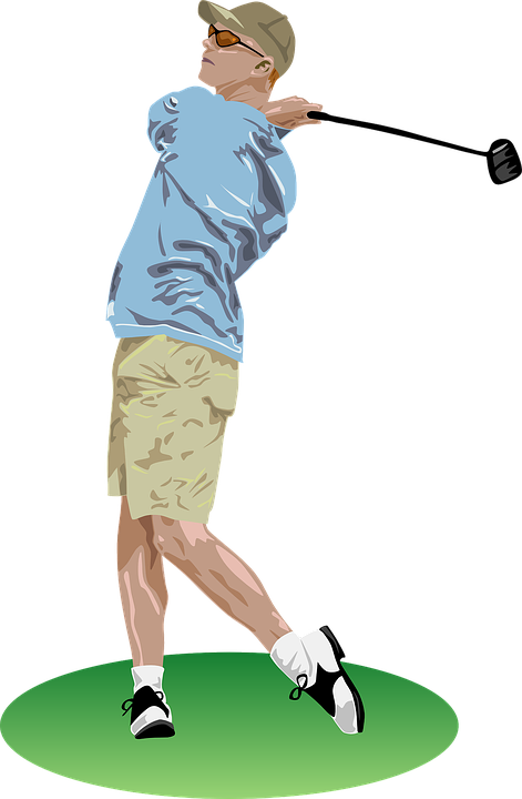banner royalty free library Transparent . Golfer clipart golf group