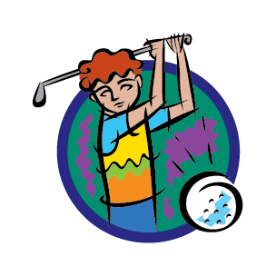 clipart stock Free download sports clip. Golfer clipart golf theme