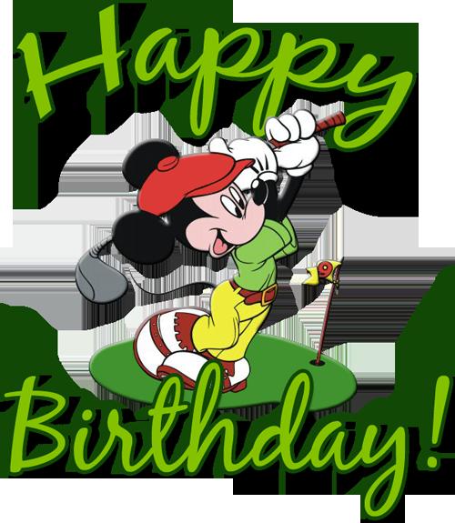 svg Happy birthday wishes to. Golfer clipart golf theme