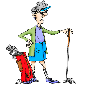 banner library download Queen of the course. Golfer clipart golf theme