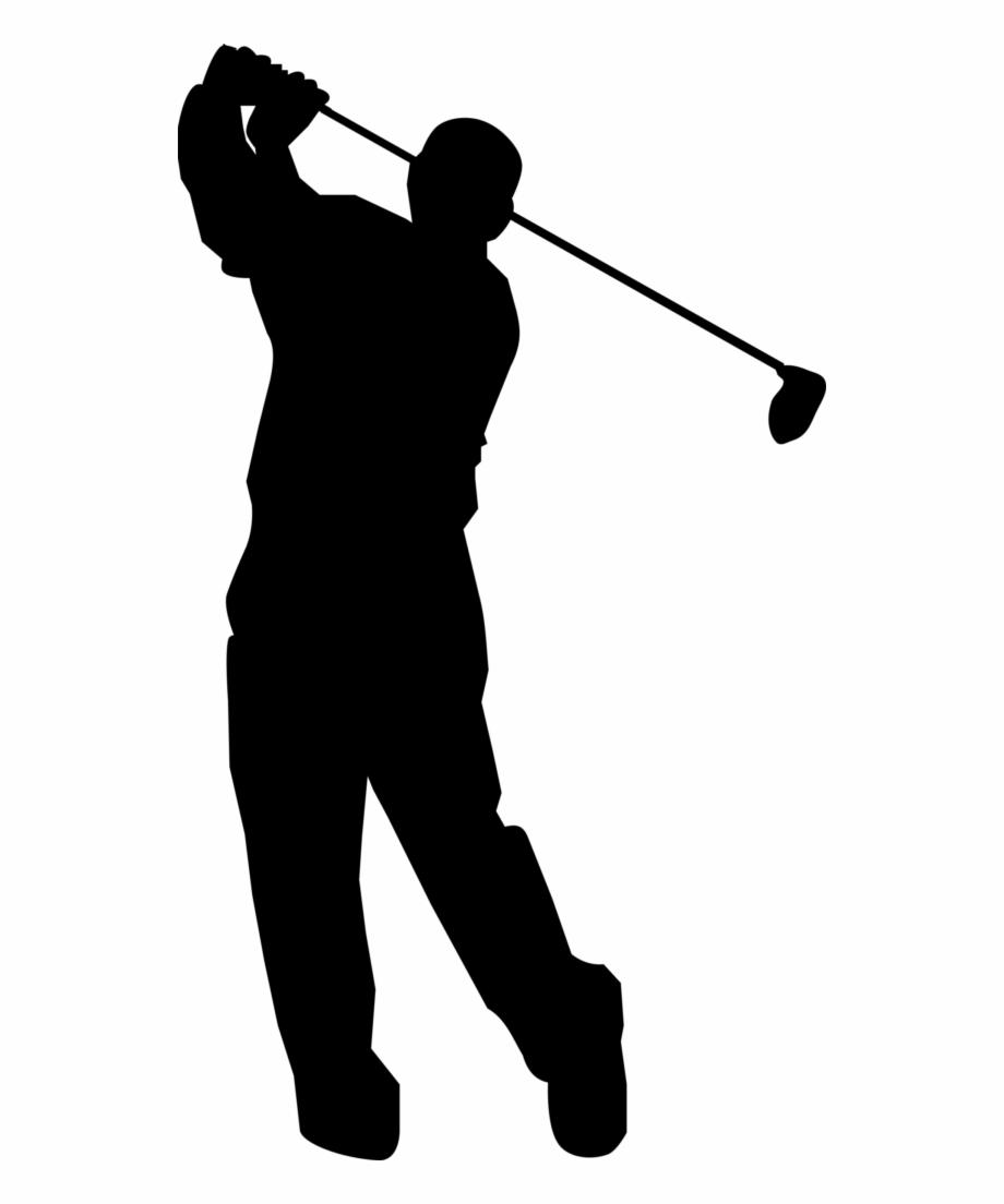 svg freeuse download Golf ball club clip. Golfer clipart