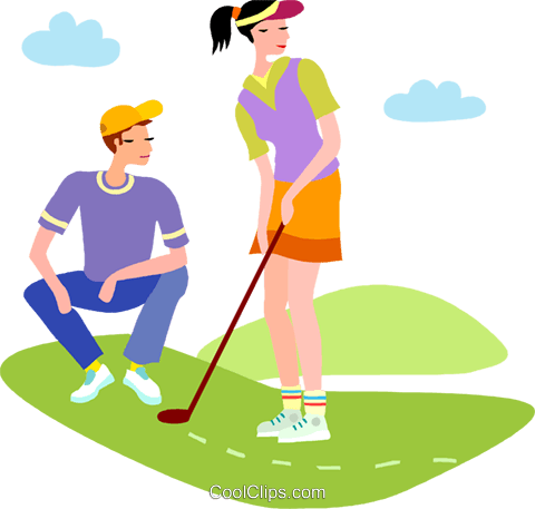 clipart transparent Golf clipart halloween. Vector of a couple