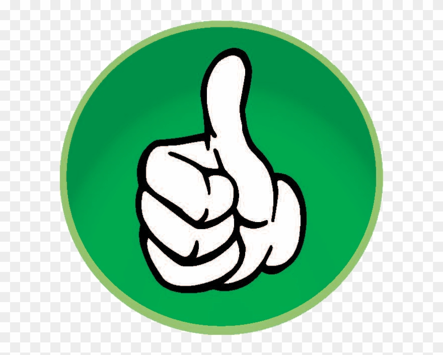 jpg free stock Good clipart. Thumbs up png transparent