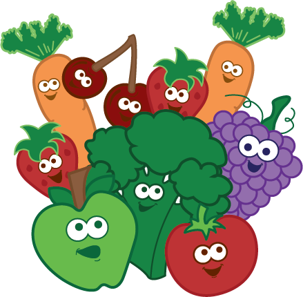 vector stock Kids Healthy Eating Tips