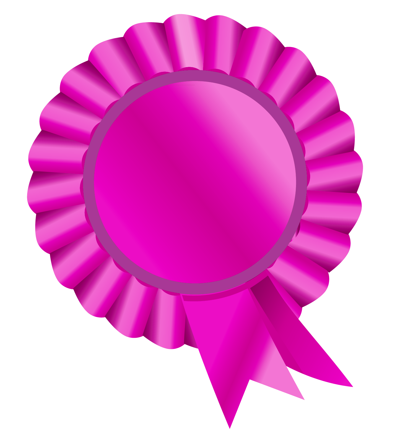 svg library Good clipart rosette. Ribbon pink picture gallery