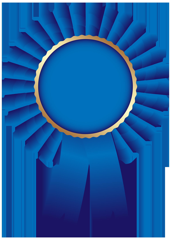 picture freeuse stock Blue ribbon clip art. Good clipart rosette