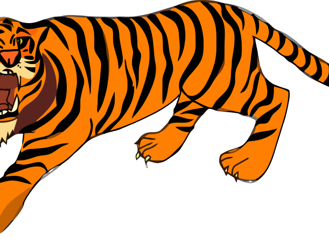 royalty free library Good clipart tiger body. Tiiger free on dumielauxepices